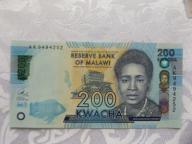 MALAWI 200 KWACHA 2016 r. STAN ( UNC )