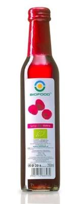 Biofood Syrop Bio Malina 0,25L Ekologiczny z Malin