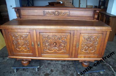 A C Bogato Rzezbiona Komoda Holenderska 200cm 018 5920784604 Oficjalne Archiwum Allegro