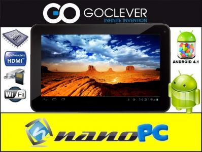 TABLET R104 GOCLEVER 10'' LED 1GB DDR3 8GB AND 4.1