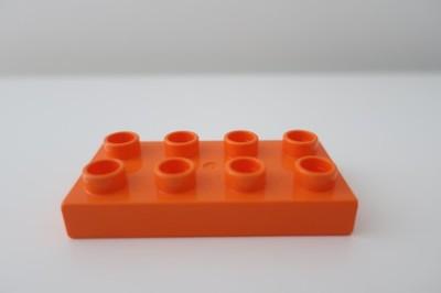 LEGO DUPLO klocek płytka 2x4 piny płaski