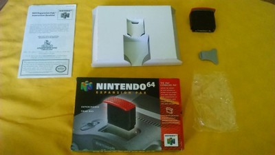 Expansion Pak N64 Nintendo 64 Komplet Oryginał