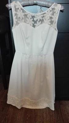 6fa6e10e30 Sukienka VISSAVI kremowa