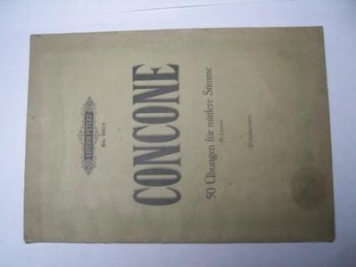 STARE NUTY CONCONE 50 UBUNGEN FUR MITTLERE STIMME
