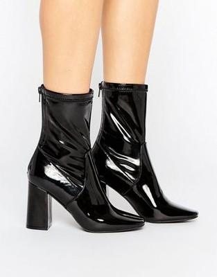 8bf3c30dbfd39 NEW LOOK buty na słupku jesienne czarne 4 37 F 8 - 6891306984 ...