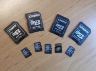 KINGSTON karta pamięci micro SDHC 8 Gb + adapter