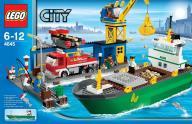 LEGO CITY 4645 Port Harbour Kompletny 100%