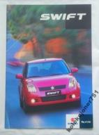 Prospekt SUZUKI SWIFT