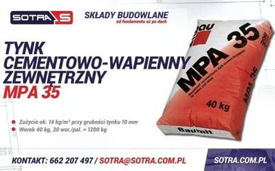 Baumit Tynk Cementowo Wapienny Zewnetrzny Mpa 35 6055912965