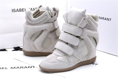 Isabel Marant Buty Sneakers Szare 39 24h 6658906806 Oficjalne Archiwum Allegro