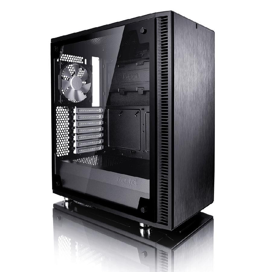 Define C TG 3.5'HDD 2.5'SDD uATX/ATX/ITX Black