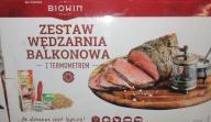 WĘDZARKA PRZENOŚNA Z TERMOMETREM- BIOWIN 330002