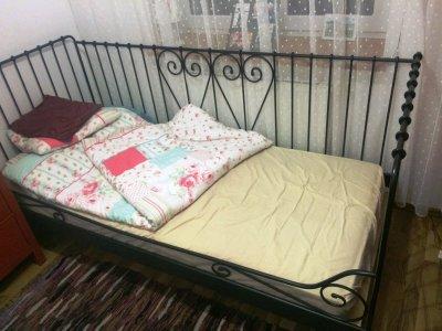 łóżko Jednoosobowe Ikea Z Materacem 6350052833 Oficjalne