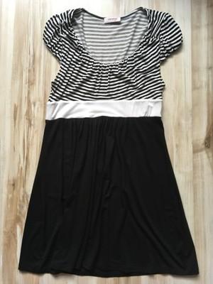 95fb1e3616 Tunika sukienka biało-czarna ORSAY 36 S - 6723694295 - oficjalne ...
