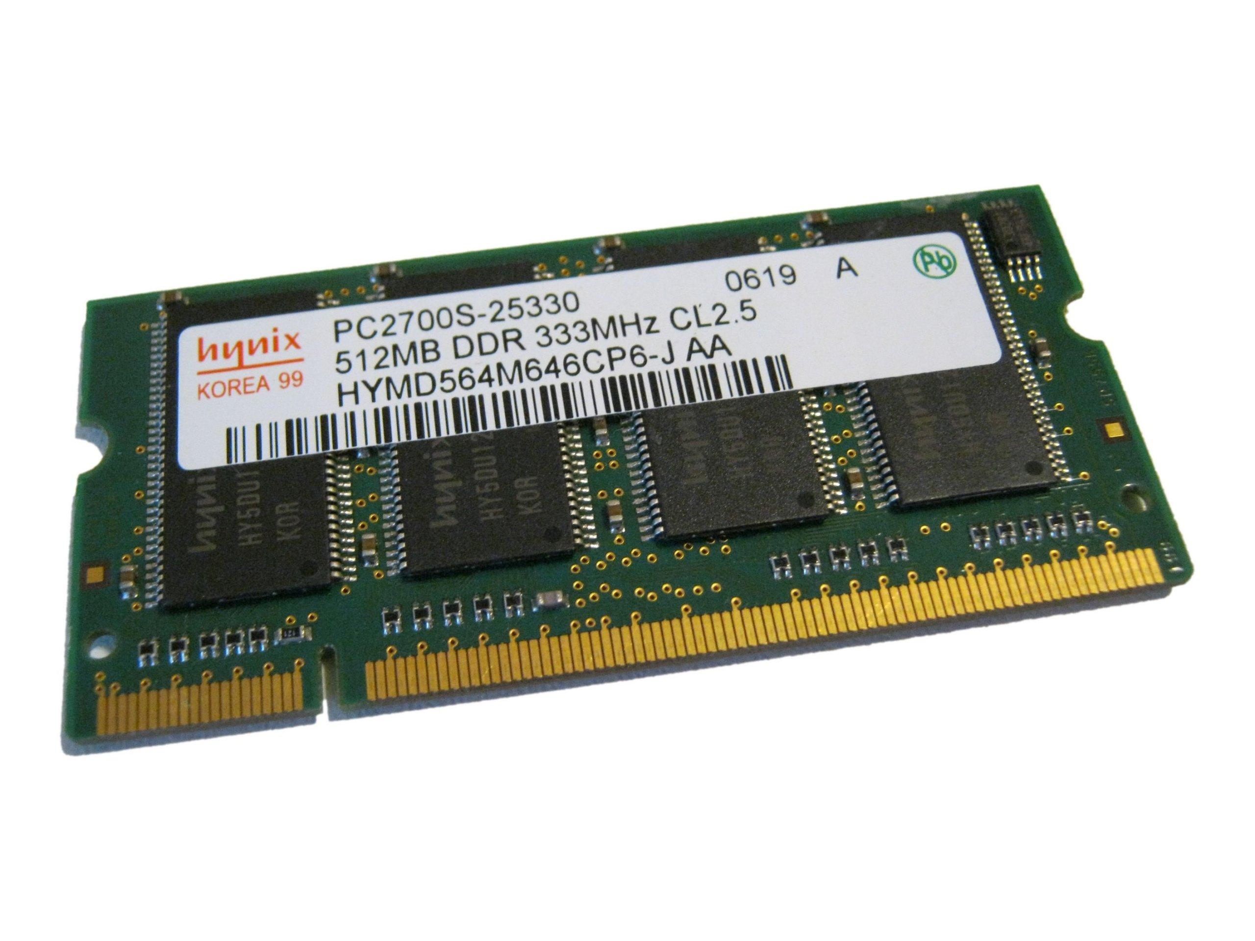 pamięć 512 mb pc2700 hynix hp nc6000 fv