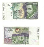 HISZPANIA - 1000 PESETAS 1992 ROK - rzadki