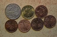 Singapur - 7 monet mało powtórek - BCM