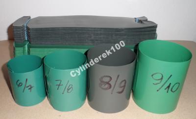 Doniczki Spinane Cylindry 6x7 100szt 4096863261