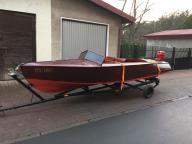 DREWNIANA MOTORÓWKA łódź łódka klasyczna RIVA