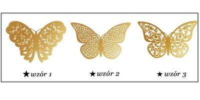 Motylki Motyle 3d Dekoracja Na ścianę ściany Pcv