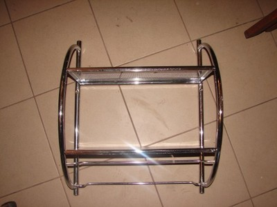 Półka łazienkowa Metalowa Wisząca 6518306070 Oficjalne Archiwum