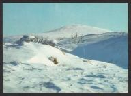 24 - BIESZCZADY - WIDOK NA HALICZ - ZIMA - 1986