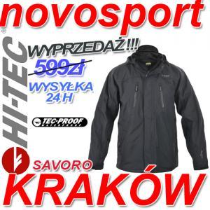 nowy koncept kupuj bestsellery wysoka jakość KURTKA 3W1 SOFTSHELL HI-TEC SAVORO r.M CZARNY - 5043321307 ...