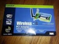 Linksys Instant Wireless PCI Card WMP11-UK