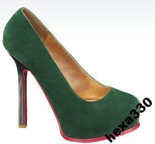 ae2d93ff Catwalk szpilki zielone r 40. - 5220390999 - oficjalne archiwum allegro