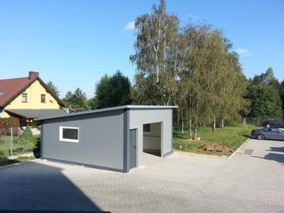 Garaż Z Płyty Warstwowej 6823551209 Oficjalne Archiwum Allegro