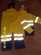 Spodnie i kurtka robocza, odblaski, XXL, nowe!