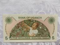 UGANDA 5 SZYLINGÓW 1982 r. St. ( UNC )