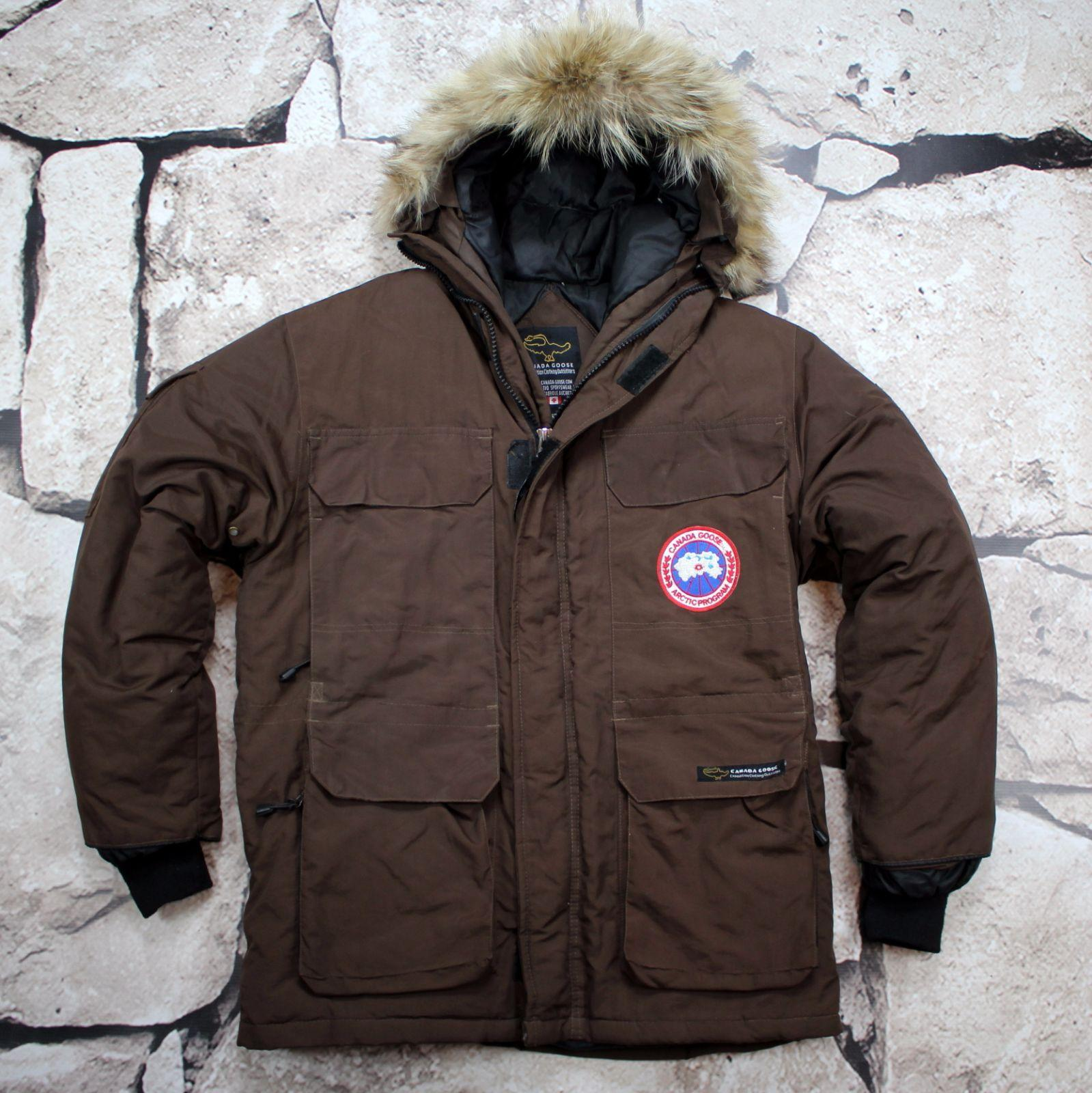 canada goose Expedition beżowe