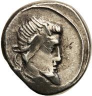 Rzym - Republika AR-denar Q. Titius 90 r. p.n.e.