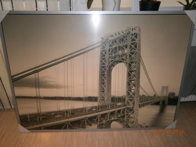 Nowy Obraz Ikea W Folii Most 100x140 Odbiór Osobis 6005378812