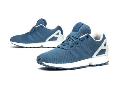 adidas zx flux damskie niebieskie allegro