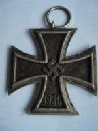 III Rzesza Krzyż Żelazny II klasy Sygnowany!