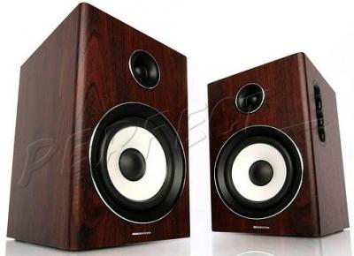 Głośniki stereo 2.0 Modecom MC-HF40 40W DREWNO