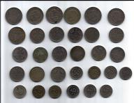 RFN - 31 starych monet - rzadkie