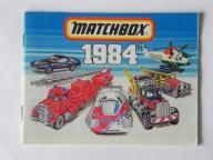 MATCHBOX - KATALOG - 1984