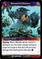 WOW: Monstrous Essence  [GamesMasters]