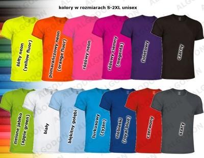 T-shirt koszulka sportowa ODDYCHAJĄCA na maraton L