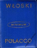 Słownik minimum włosko polski i polsko włoski Jedl