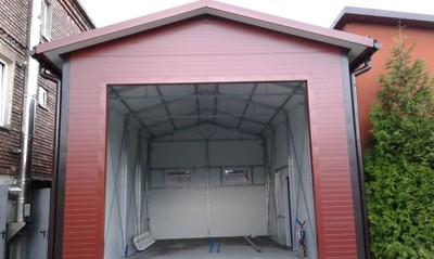 Garaż Z Płyty Warstwowej 60m2 6736843202 Oficjalne Archiwum Allegro