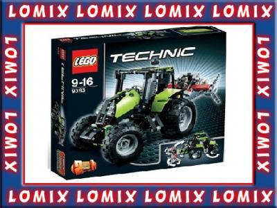 Klocki Lego Technic 2w1 Traktor 9393 Nowość 3255930424 Oficjalne