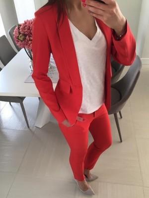 6ecc0beccc7aee Czerwone spodnie cygaretki EDAN 36 S - 6787773662 - oficjalne ...