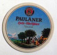 Paulaner Munchen - podstawka do piwa .