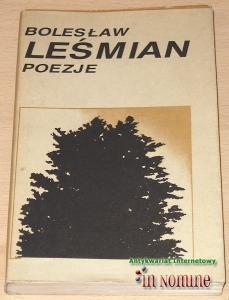 Bolesław Leśmian Poezje 6338994915 Oficjalne Archiwum