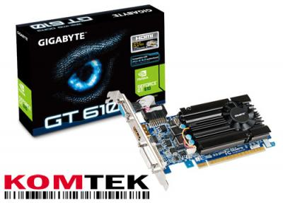 Gigabyte Geforce GT610 1GB PCI-E HDMI low profile