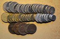 Hiszpania - 44 monety mało powtórek - BCM